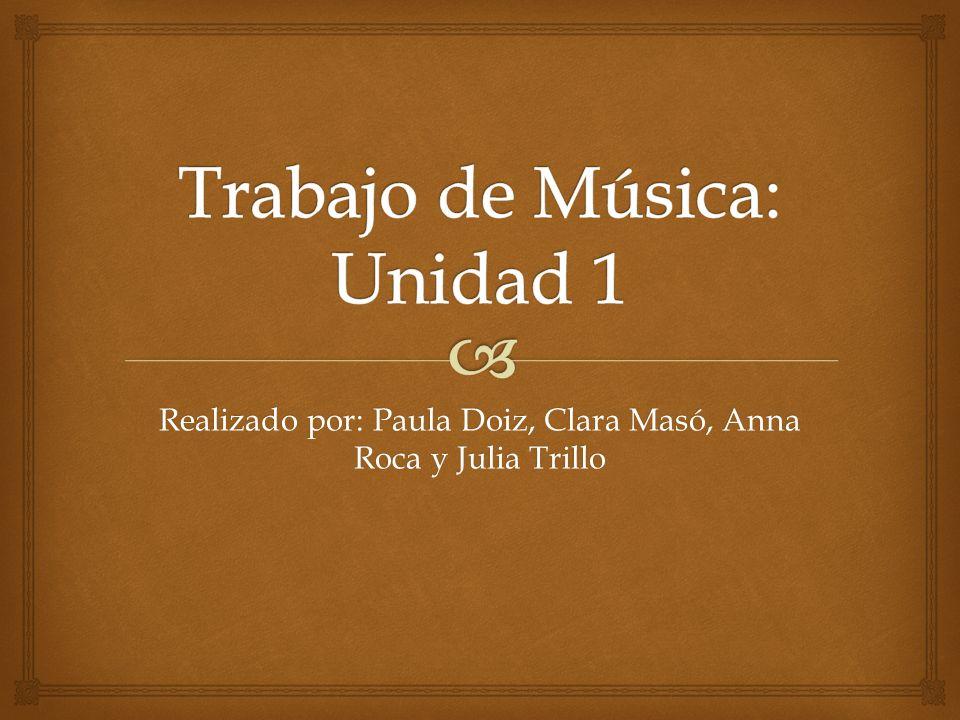 Realizado por: Paula Doiz, Clara Masó, Anna Roca y Julia Trillo