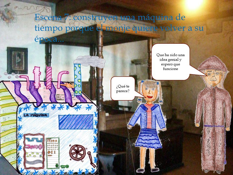  Escena 6: La niña le cuenta su plan...
