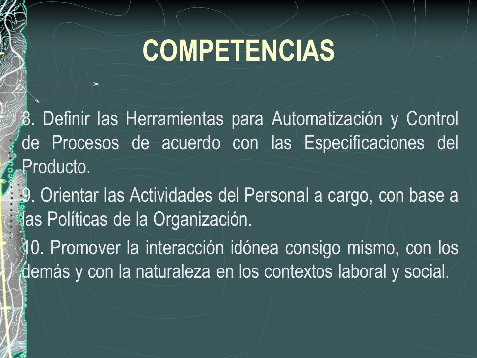 COMPETENCIAS 8.