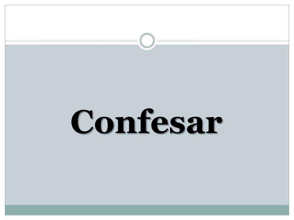 Confesar