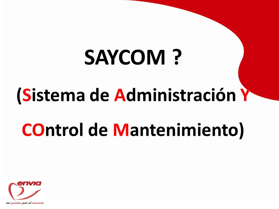 TABLA DE CONTENIDO 1.OBJETIVO 2. FLUJOGRAMA DE MANTENIMIENTO 3.
