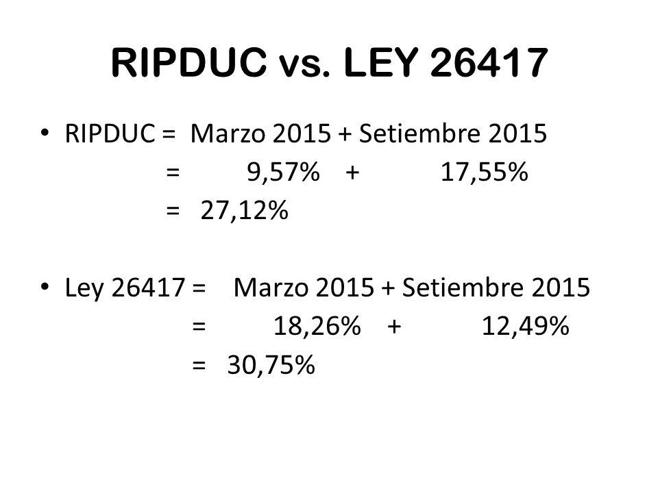 RIPDUC vs.