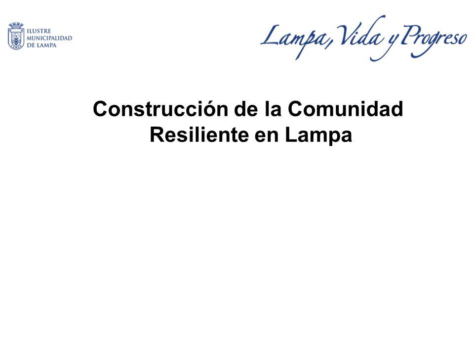 Construcción de la Comunidad Resiliente en Lampa