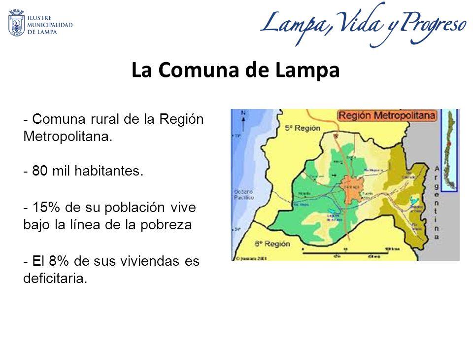 La Comuna de Lampa - Comuna rural de la Región Metropolitana.