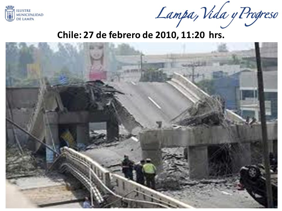 Chile: 27 de febrero de 2010, 11:20 hrs.