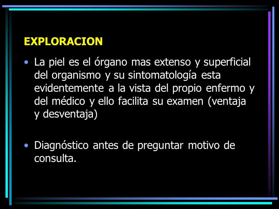 ESTUDIO DE UN ENFERMO DE LA PIEL Dr. Raúl González Vásquez Dermatólogo