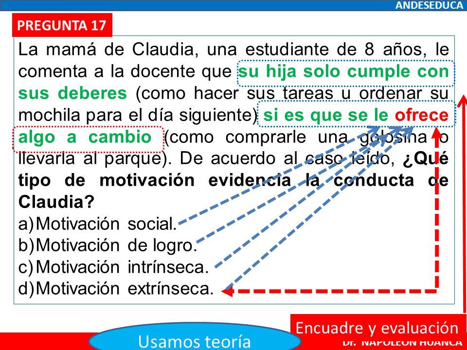 ♧ DESARROLLO DE LAS PREGUNTAS Dr. NAPOLEÓN HUANCA DESARROLLO DE ...