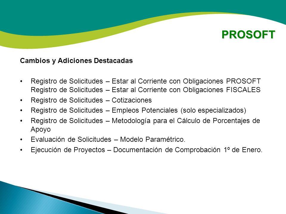Gestión de Recursos para Proyectos Productivos – Fondo PROSOFT ...