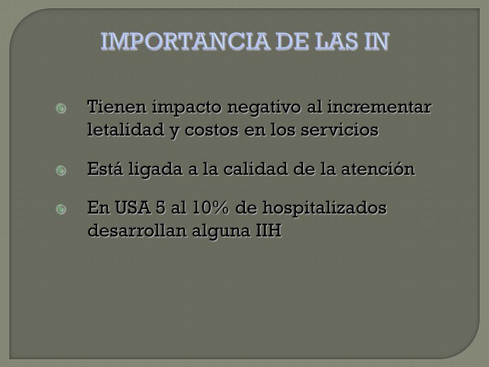 Contaminación de equipos e instrumentos  Contaminación de las manos del personal  Hacinamiento e higiene personal  Presencia de vectores: mosquitos, piojos, ratas, etc.