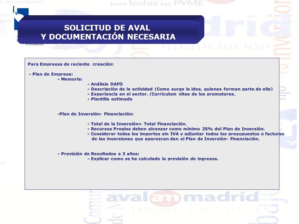 AVALMADRID, S.G.R. Soluciones para la Financiación de las PYME ...