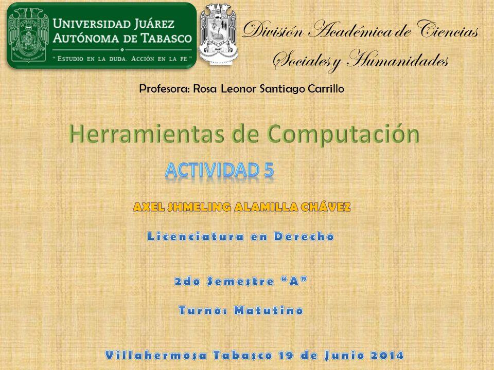 División Académica de Ciencias Sociales y Humanidades