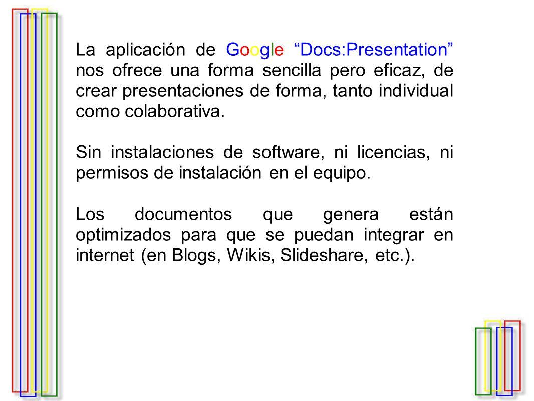 Cambiar la plantilla Google Docs cuenta con algunas plantillas que permiten agregar algo de atractivo a la presentación.