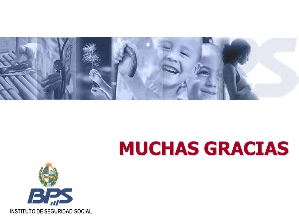 MUCHAS GRACIAS INSTITUTO DE SEGURIDAD SOCIAL