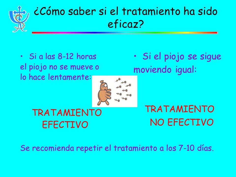 ¿Cómo saber si el tratamiento ha sido eficaz.