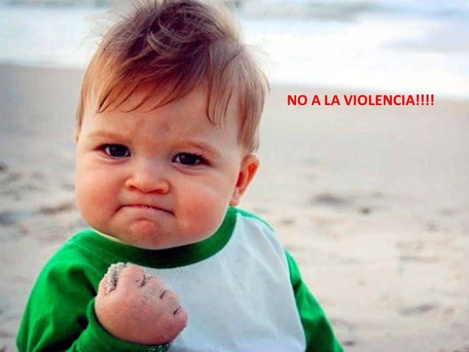 NO A LA VIOLENCIA!!!!