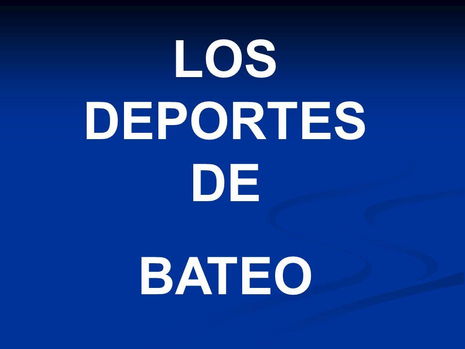 LOS DEPORTES DE BATEO