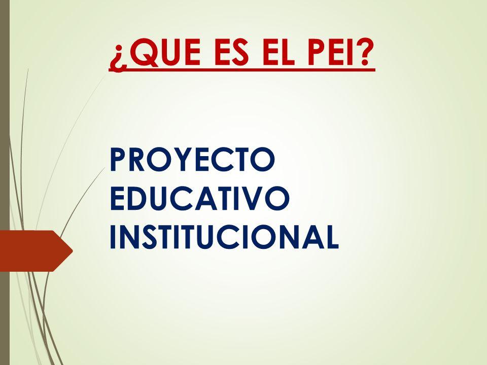 Guía Metodológica para la construcción participativa del Proyecto Educativo Institucional se han producido importantes transformaciones en las políticas educativas del país, bajo las orientaciones de la Constitución de 2008, la Ley Orgánica de Educación Intercultural (LOEI) de 2011 y el Plan Nacional Para el Buen Vivir 2009-2013.