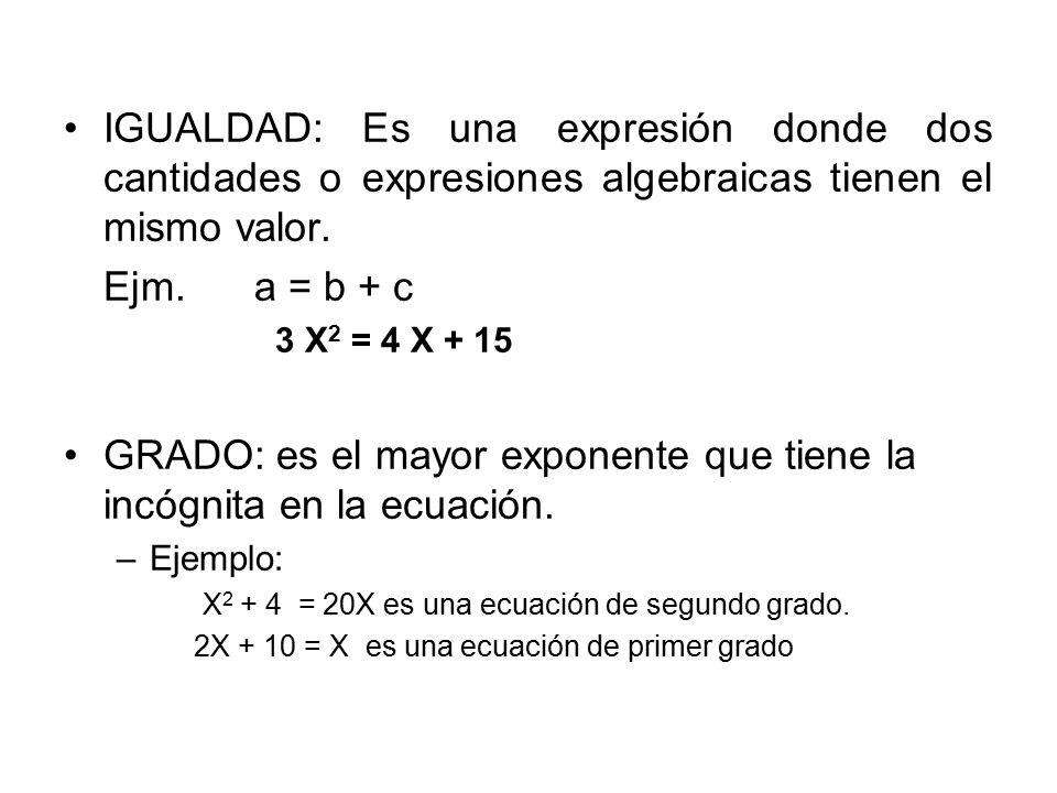 Actividad 2 1)2(a-5a) 2)a + a 2 3 Escribe en lenguaje corriente las siguientes expresiones algebraicas.