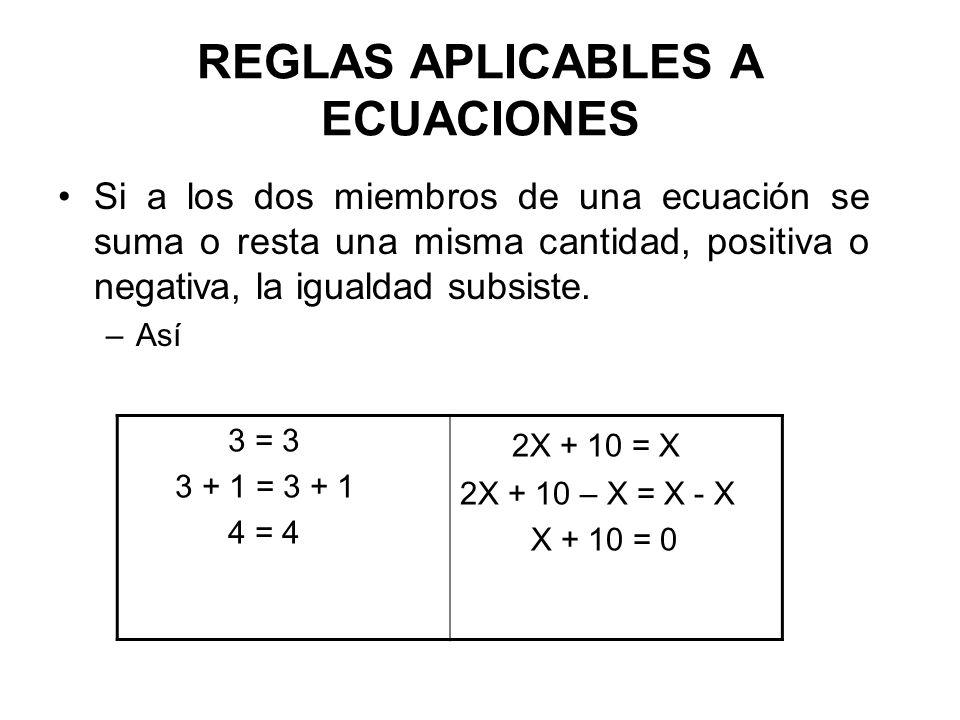 Procedimiento para la resolución de problemas con ecuaciones 1.Interpretar el problema e identificar la incógnita 2.Plantear la ecuación 3.Resolver la ecuación y responder al problema 4.Verificar la solución Ejemplo: