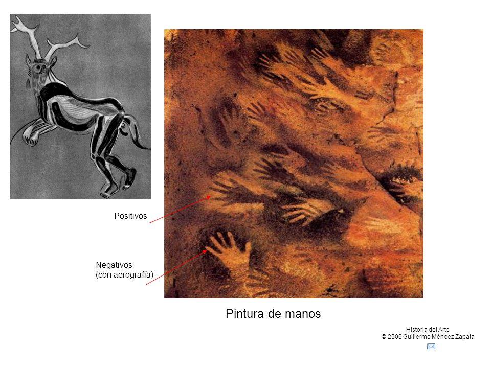 Claseshistoria Historia del Arte © 2006 Guillermo Méndez Zapata Pintura de manos Positivos Negativos (con aerografía)