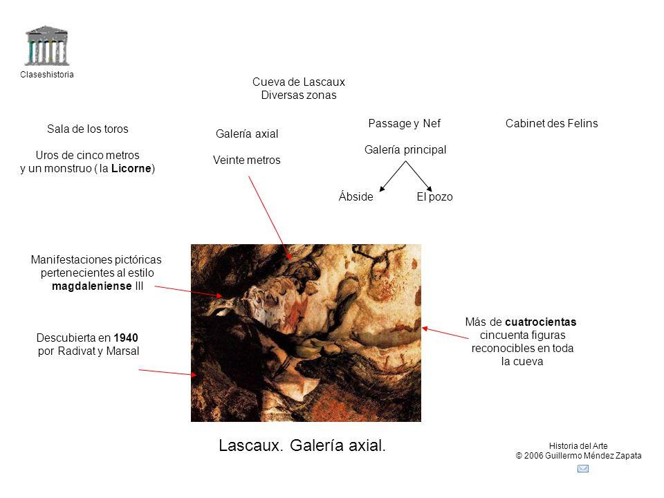 Claseshistoria Historia del Arte © 2006 Guillermo Méndez Zapata Lascaux.