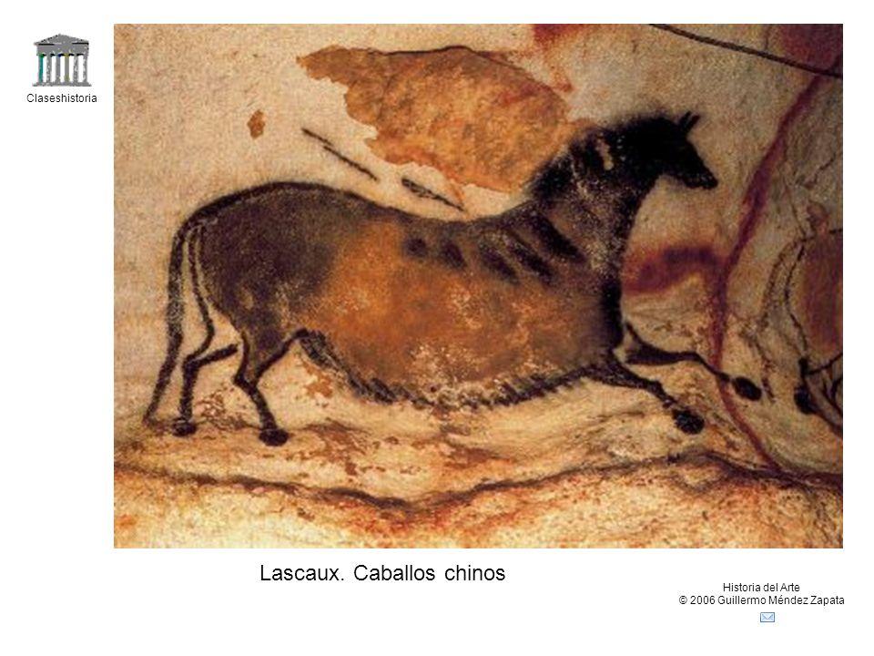 Claseshistoria Historia del Arte © 2006 Guillermo Méndez Zapata Lascaux. Caballos chinos