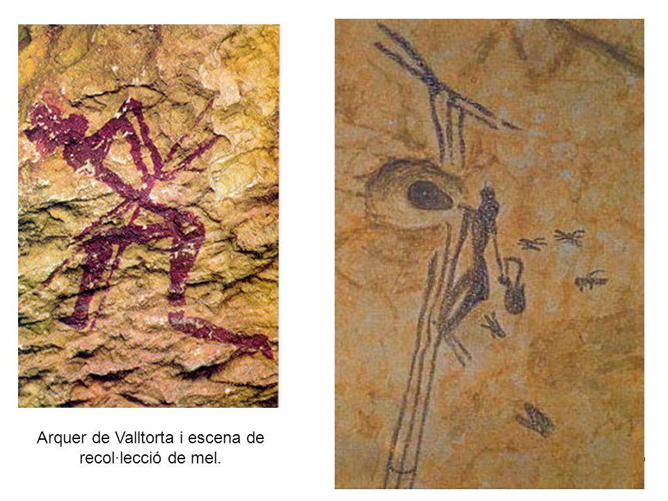 Claseshistoria Historia del Arte © 2006 Guillermo Méndez Zapata Arquer de Valltorta i escena de recol·lecció de mel.