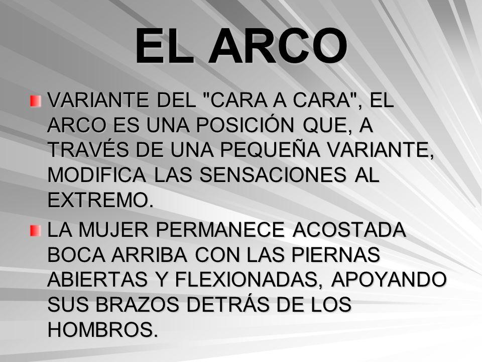 EL TIENE FÁCIL ACCESO AL CLÍTORIS Y LOS PECHOS DE SU COMPAÑERA.