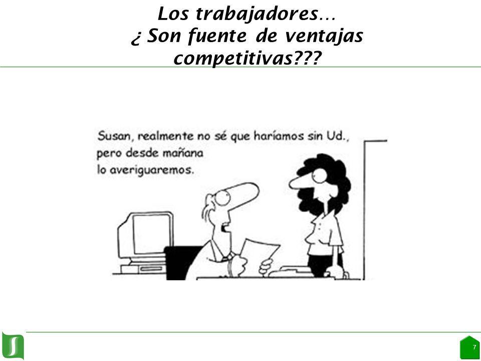 Los trabajadores… ¿ Son fuente de ventajas competitivas 7