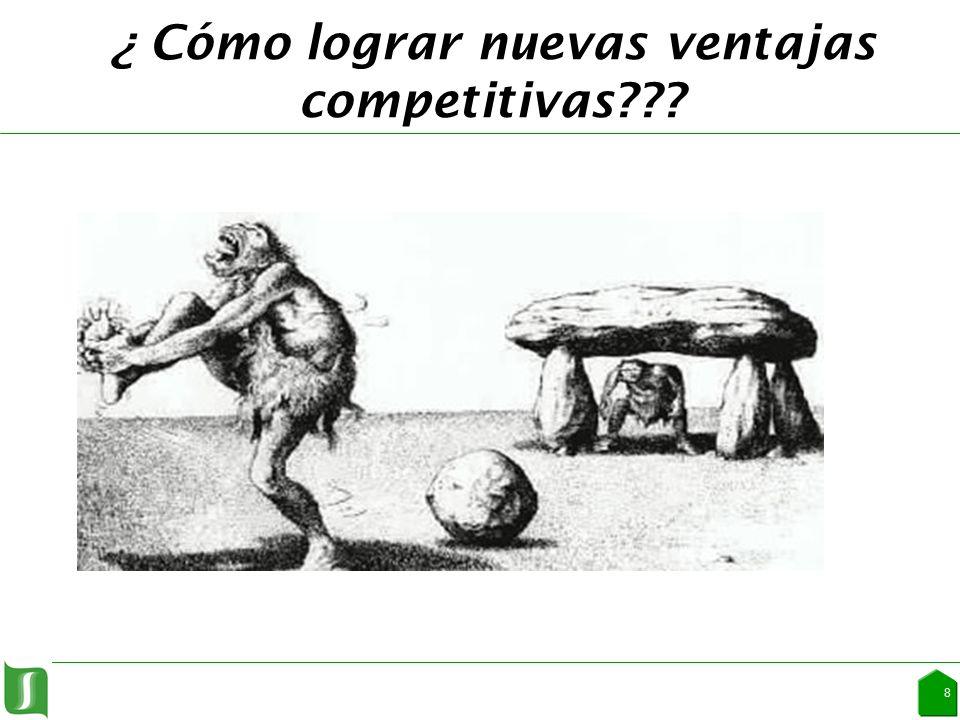 ¿ Cómo lograr nuevas ventajas competitivas 8
