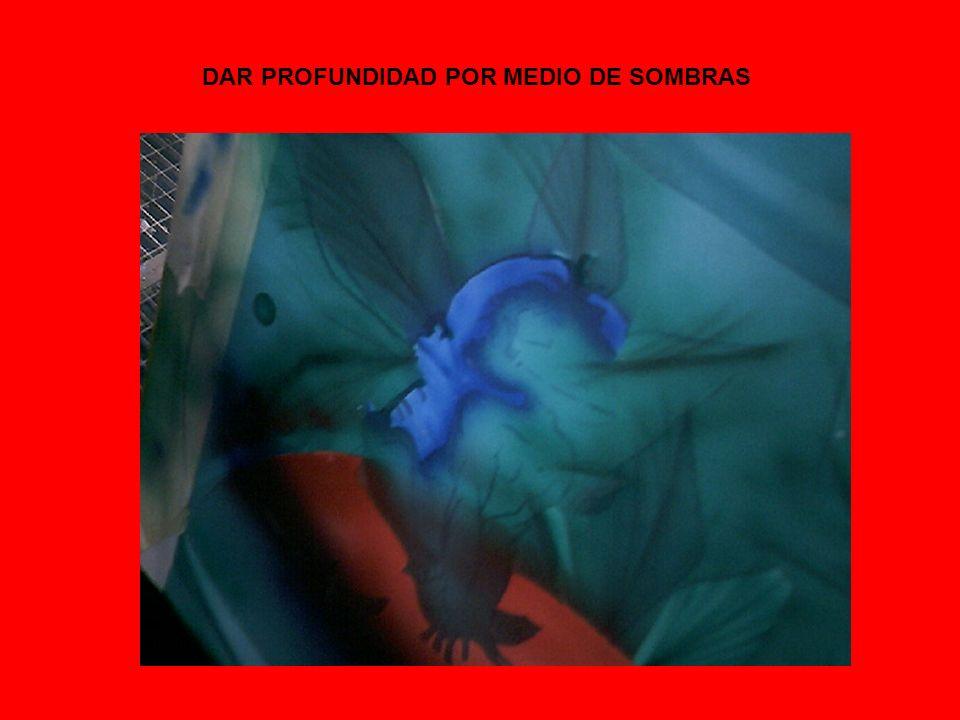 DAR PROFUNDIDAD POR MEDIO DE SOMBRAS