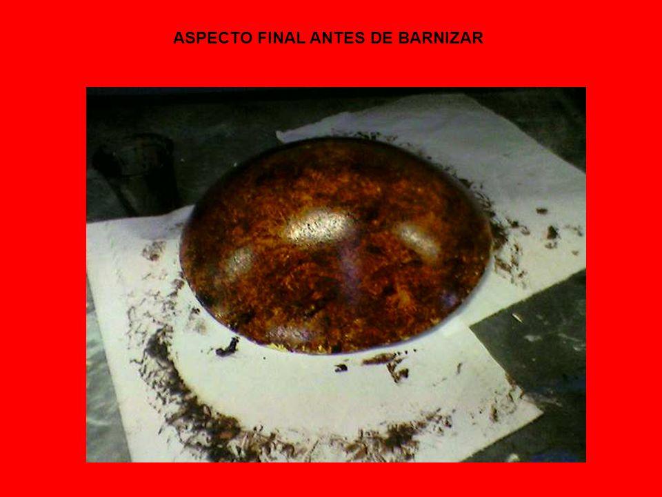 ASPECTO FINAL ANTES DE BARNIZAR