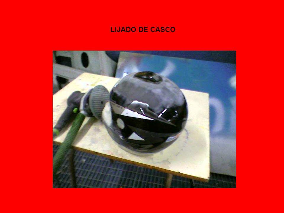 LIJADO DE CASCO