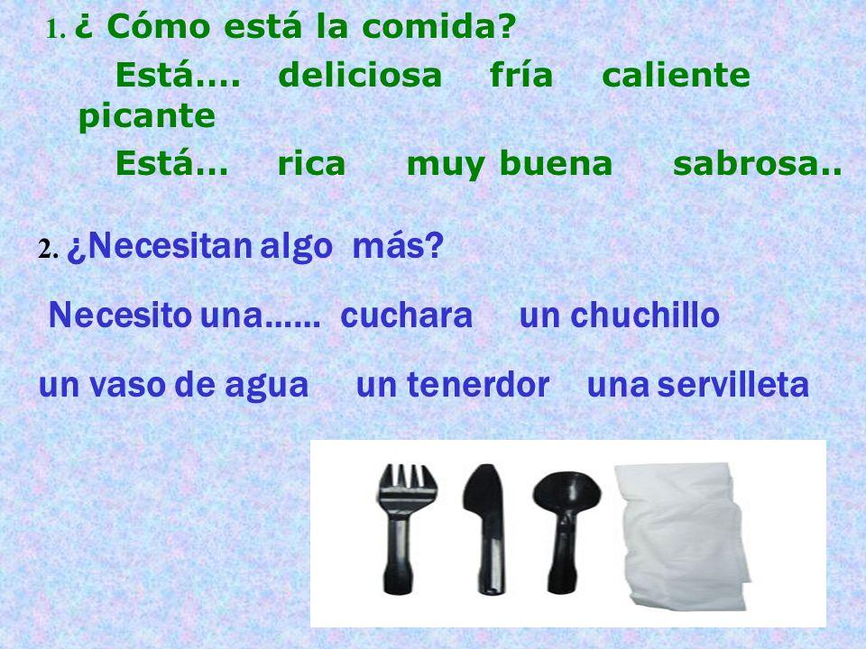 Tarea: Estudia para el examen el miércoles todos los alimentos Hazlo Ahora: Tema: Ordenar comida en el restaurante (presentaciones) Un vaso un plato un tazón un tenedor un cuchillo una cuchara Una servilleta