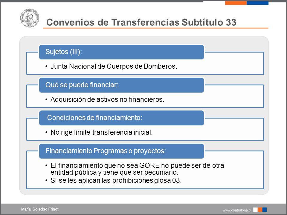 Junta Nacional de Cuerpos de Bomberos.Sujetos (III): Adquisición de activos no financieros.