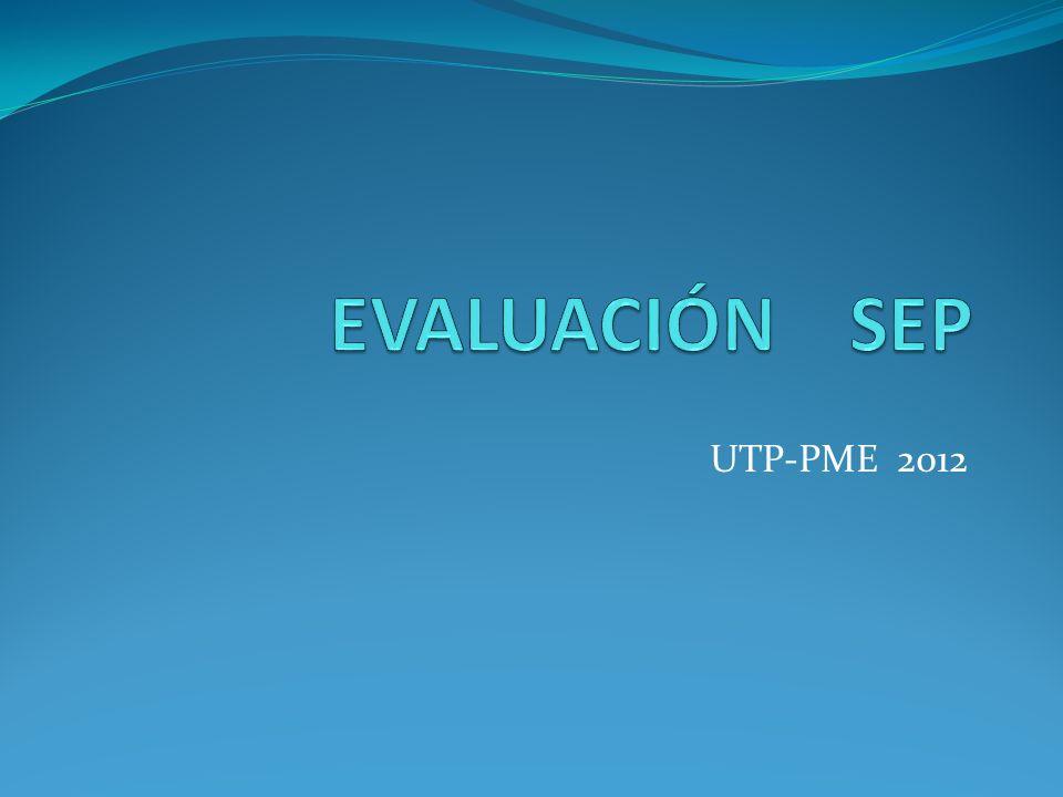 UTP-PME 2012
