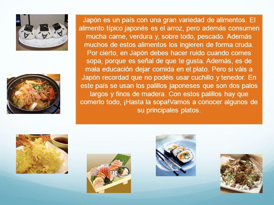 Es una bola de arroz rellena de otros alimentos como verdura o pescado, y se envuelve en alga nori.