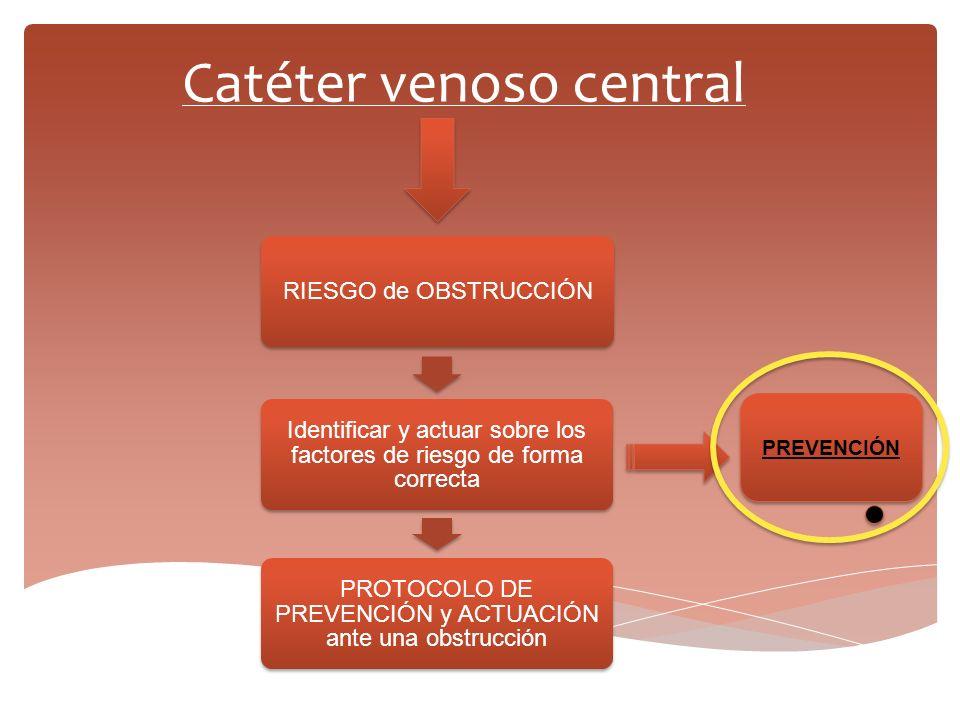 RIESGO de OBSTRUCCIÓN PROTOCOLO DE PREVENCIÓN y ACTUACIÓN ante una obstrucción Identificar y actuar sobre los factores de riesgo de forma correcta Cat