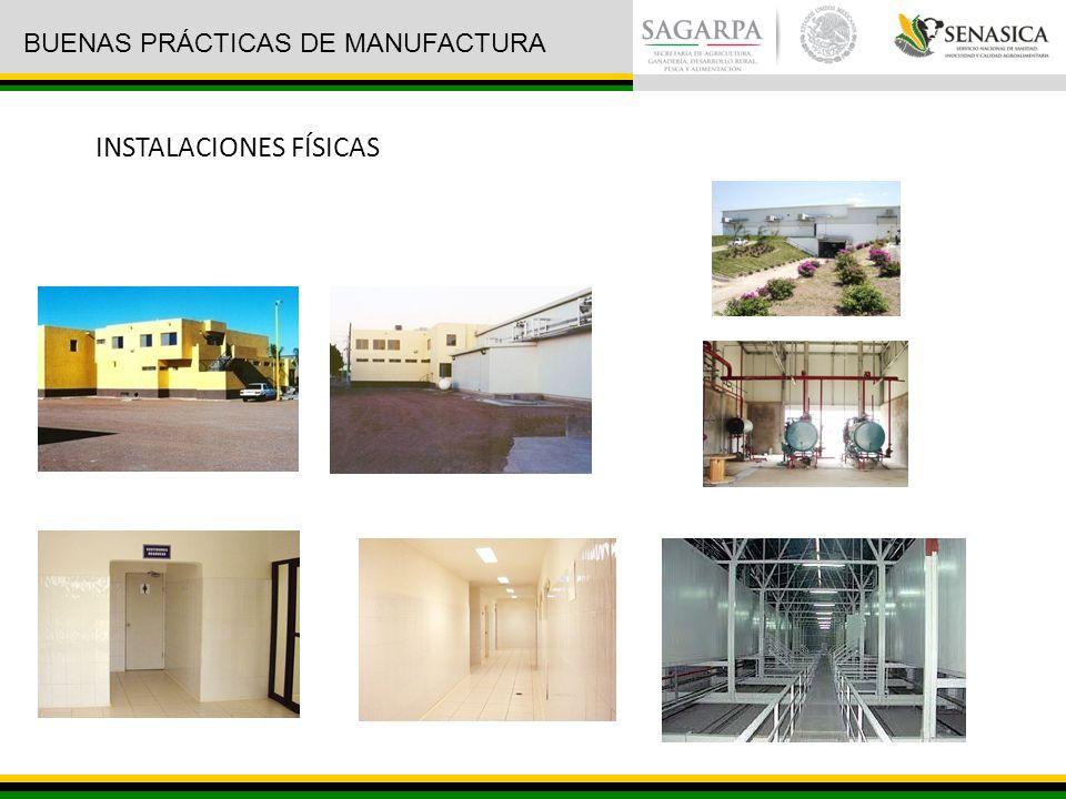 INSTALACIONES FÍSICAS BUENAS PRÁCTICAS DE MANUFACTURA