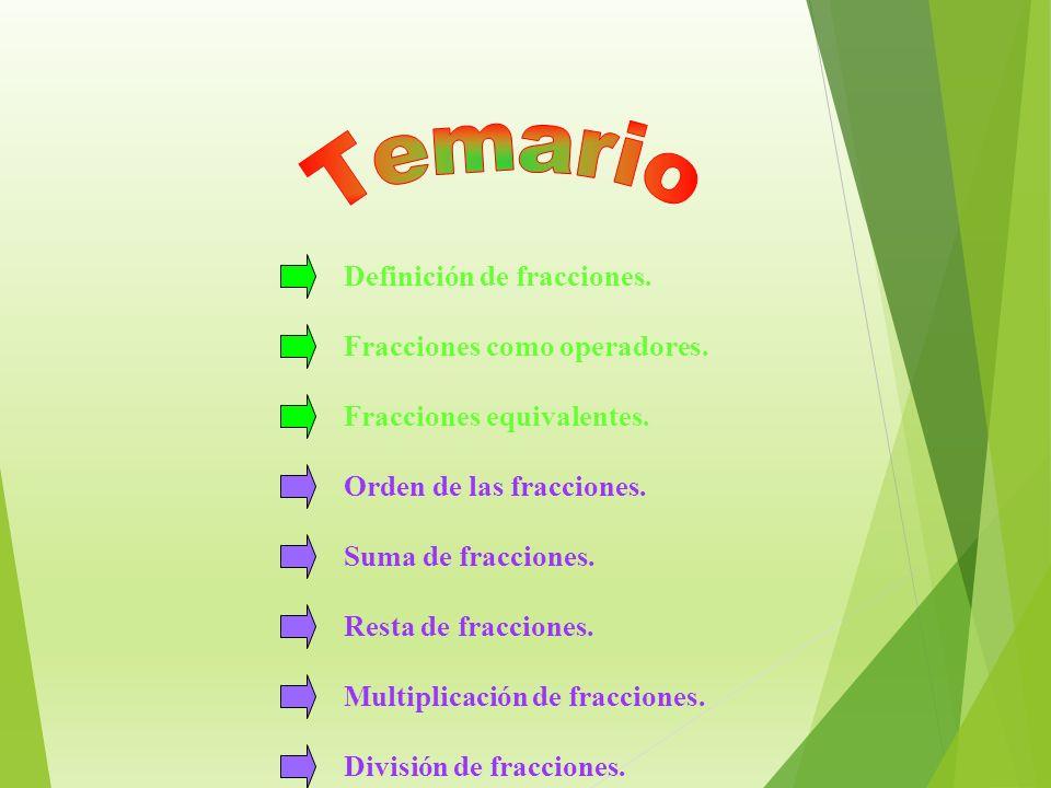 Metodología para la enseñanza de los números Fraccionarios Grado 5