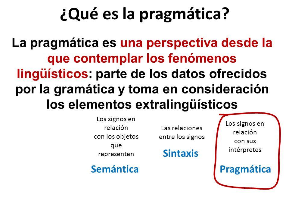 ¿Qué es la pragmática.Charles W.