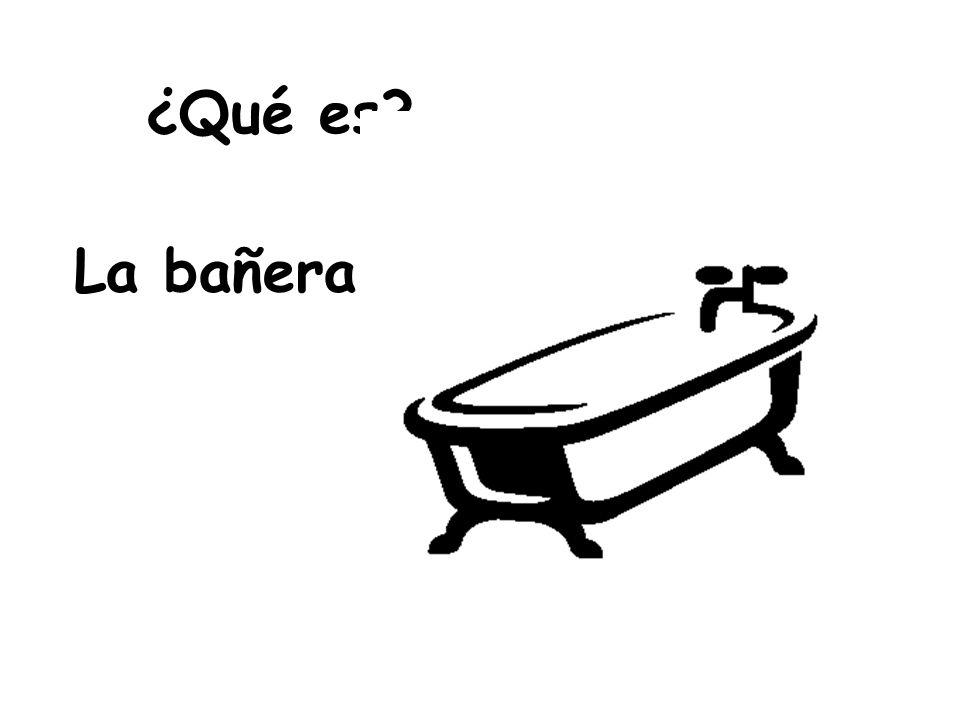 ¿Qué es La bañera