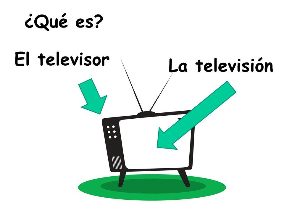¿Qué es El televisor La televisión