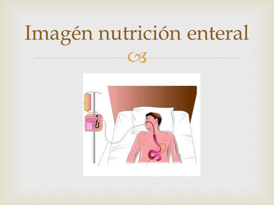  Imagén nutrición enteral