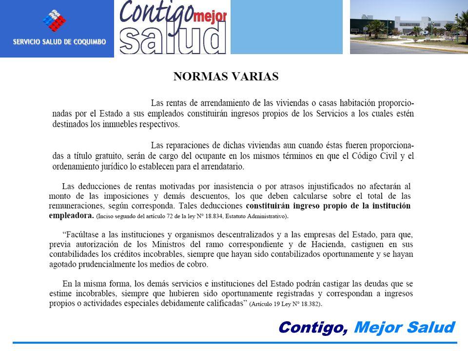 Nuestra MISION SERVICIO SALUD DE COQUIMBO Contigo, Mejor Salud