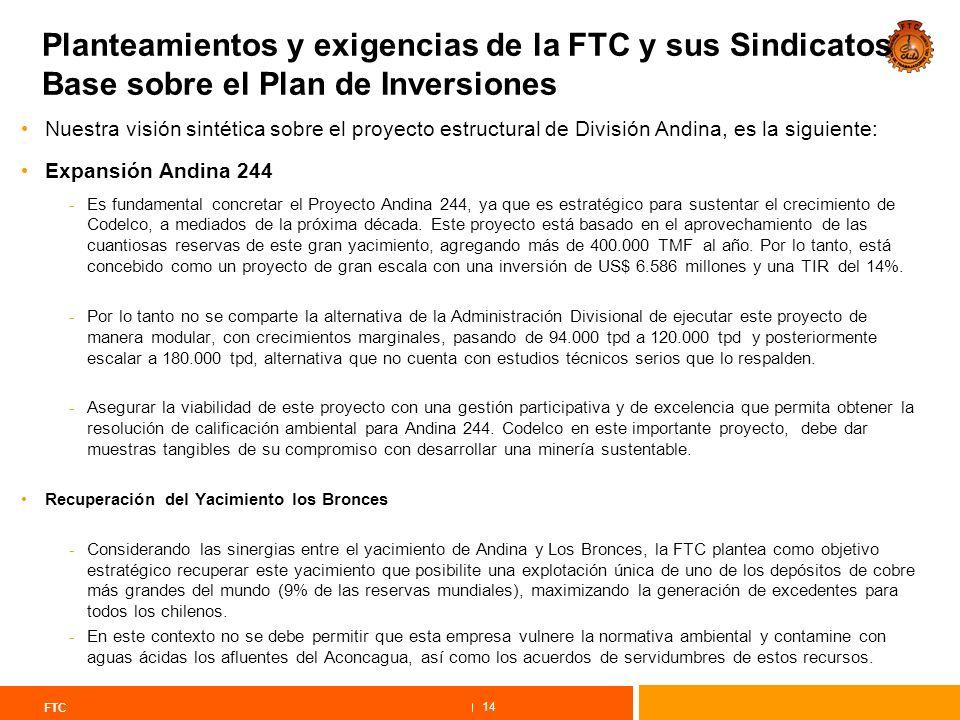 Directrices y Plan de Acción FTC Agenda Estratégica y Prioritaria ...