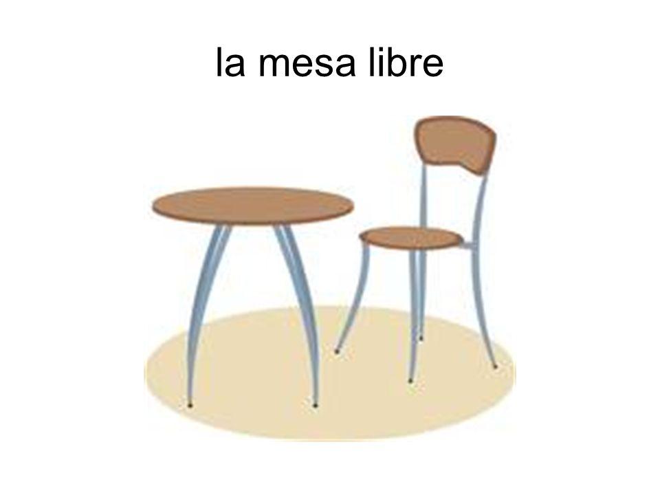 la mesa libre