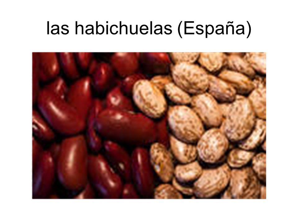 las habichuelas (España)