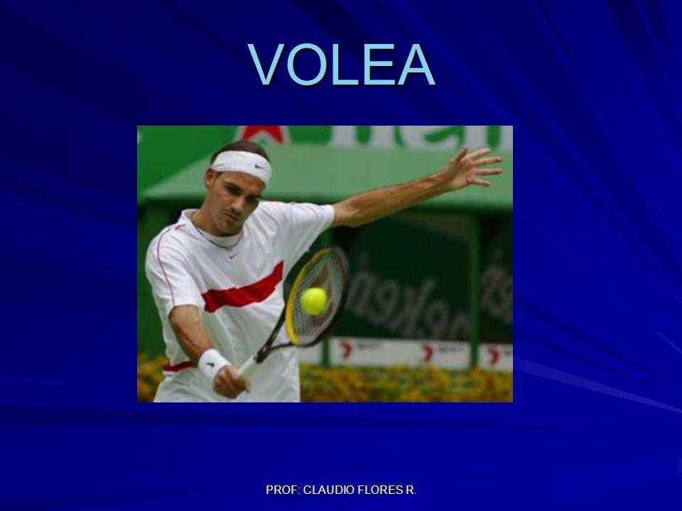 PROF: CLAUDIO FLORES R. VOLEA