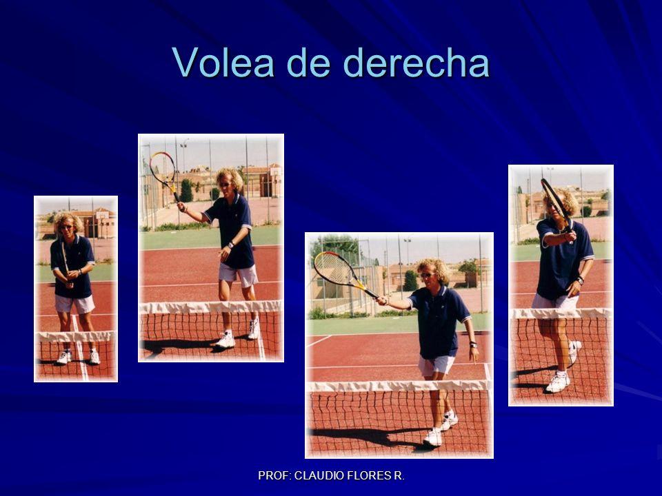 PROF: CLAUDIO FLORES R. Volea de derecha